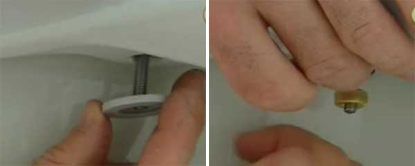 Instalar nueva tapa del WC