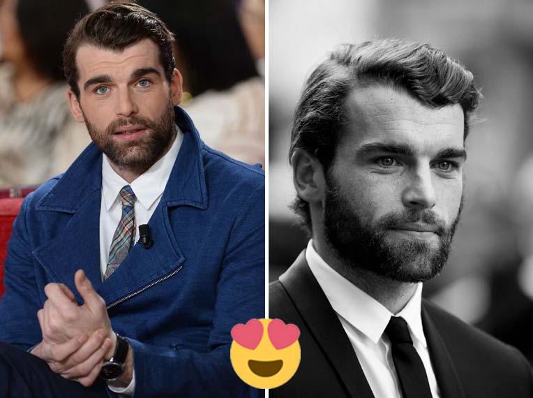 Hombres franceses guapos, bonitos y atractivos (fotos)