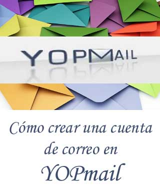 Registrarse en YOPmail