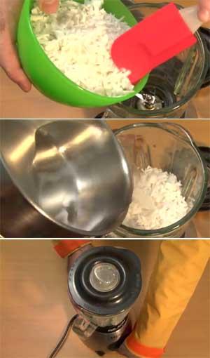 Cómo hacer leche de coco en casa