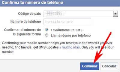 Cómo agregar un número de teléfono a mi cuenta de Facebook