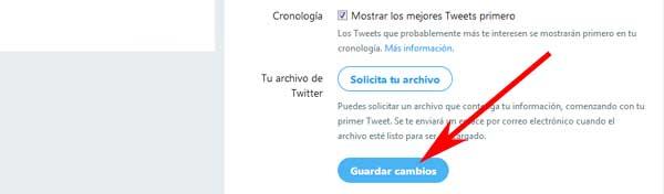 Cómo cambiar el correo electrónico de mi cuenta de Twitter