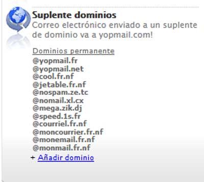 Crear un correo en YOPmail