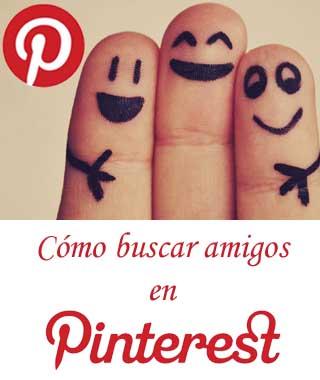 Cómo buscar contactos en Pinteres