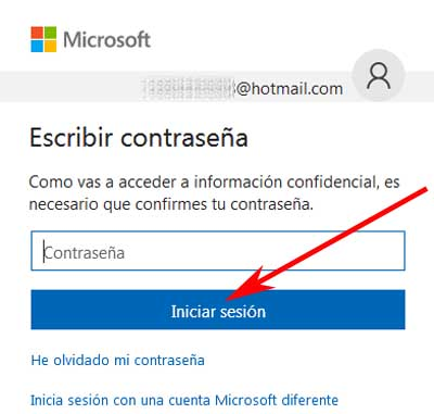 Cómo cambiar mi correo de seguridad en Hotmail