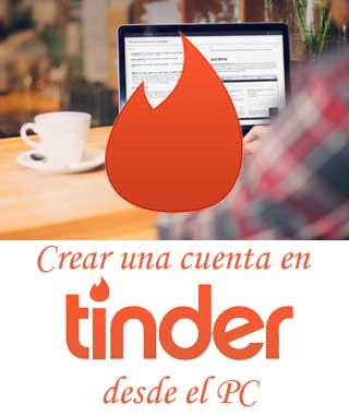 Entrar a Tinder desde el computador