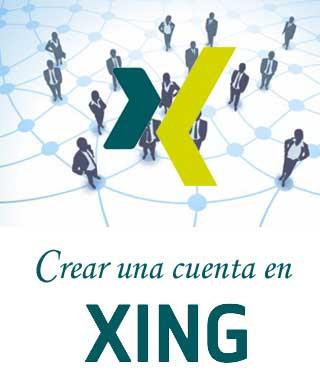 Registrarse en Xing