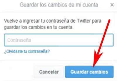 Cómo cambiar el nombre de usuario en Twitter