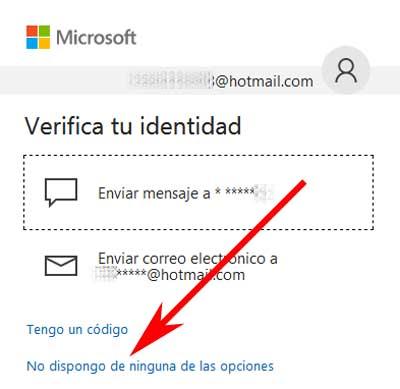 Cómo cambiar el correo alternativo en Hotmail