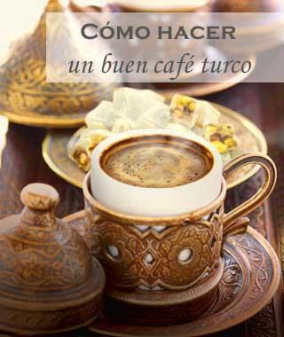 Cómo preparar un café turco