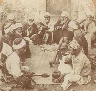 Historia del café turco