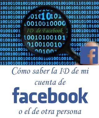 Cómo encontrar la ID de mi Facebook