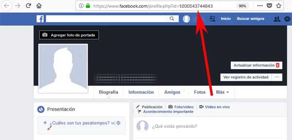 Cómo saber la ID de mi cuenta de Facebook