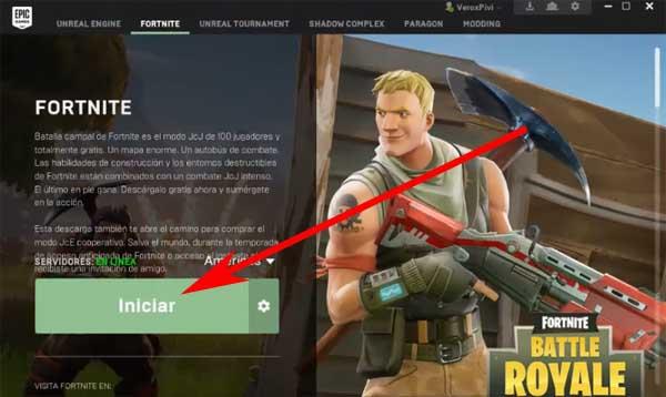 descargar fortnite battle royale para pc en español
