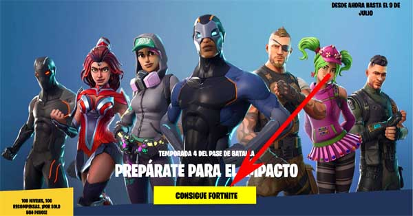 como descargar fornite para pc