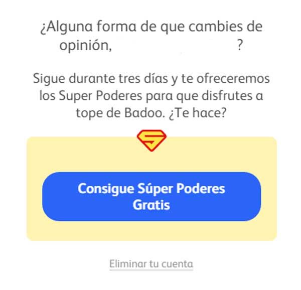 Badoo para superpoderes siempre gratis activar Conseguir Creditos