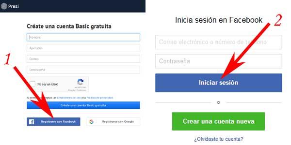Crear una cuenta en Prezi gratis o sin pagar · [RESUELTO]