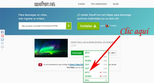 descargar videos de youtube en mp4 hd sin programas