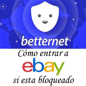 enter eBay without blocks