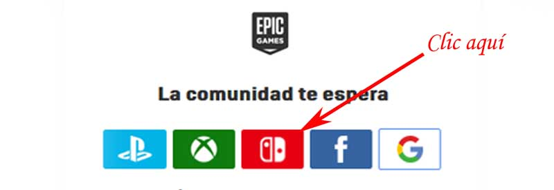 enter epic games from nintendo
