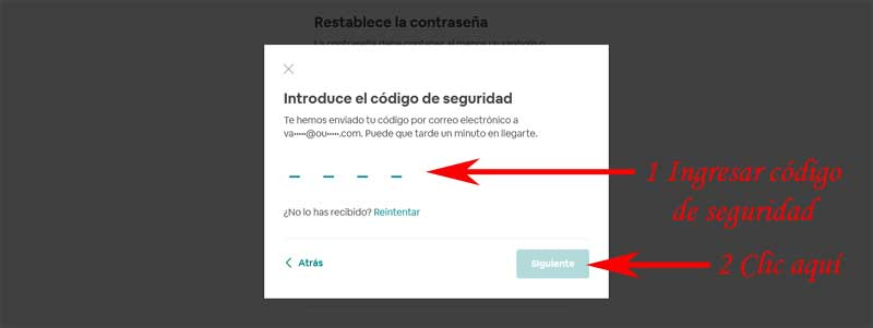 how to recover an airbnb account
