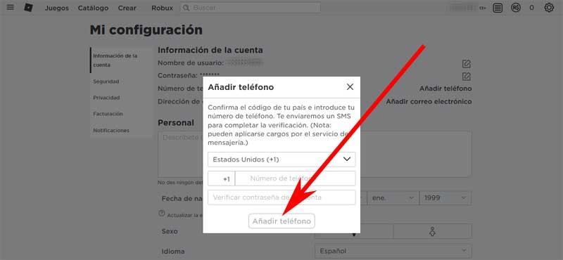 create a roblox account