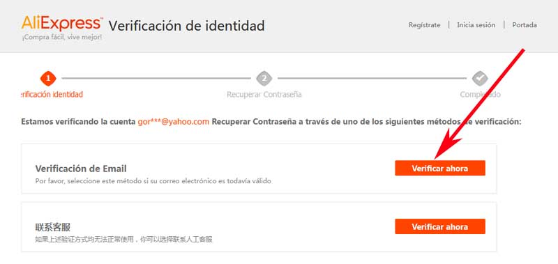 how to restore my aliexpress account