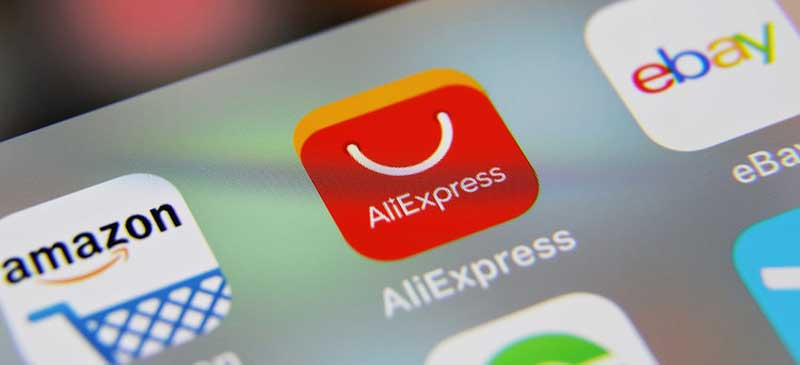 enter aliexpress on your phone