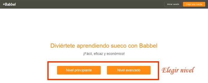 learn languages ​​in babbel