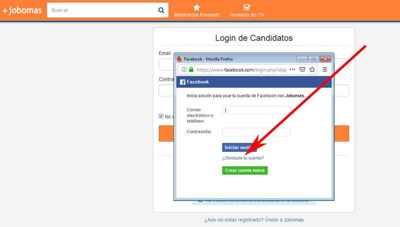 reset the facebookomas account connected to facebook