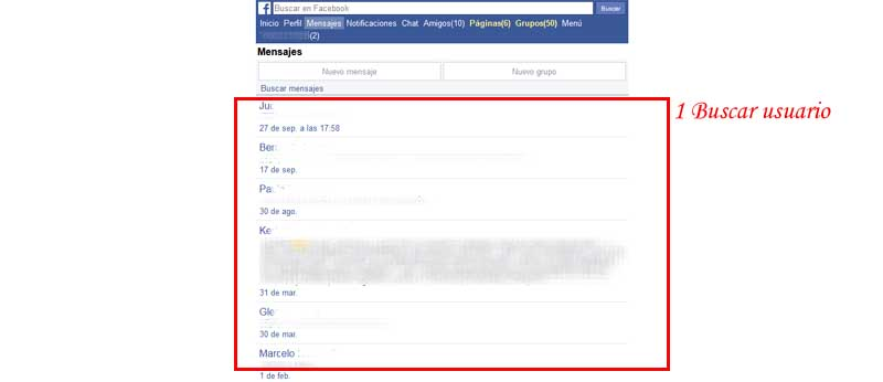 access facebook messenger