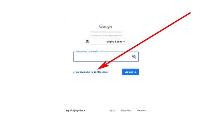 recover your Gmail account