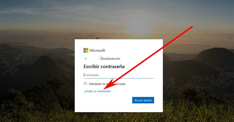 reset your hotmail account