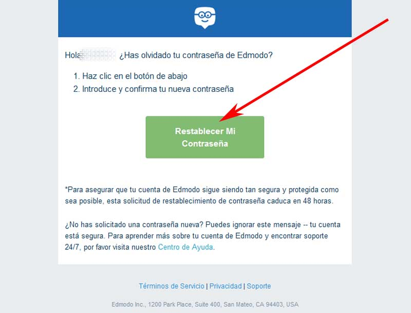 how to recover an edmodo account