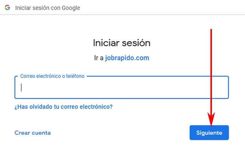 create an account on jobrapido