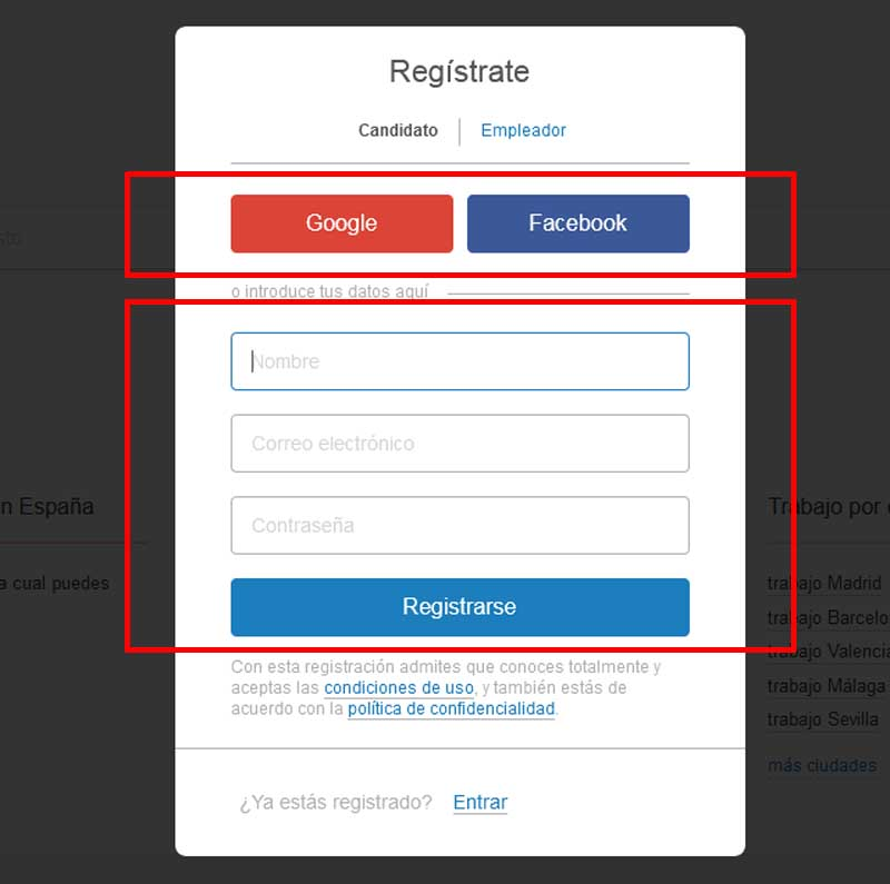 how to register in jooble