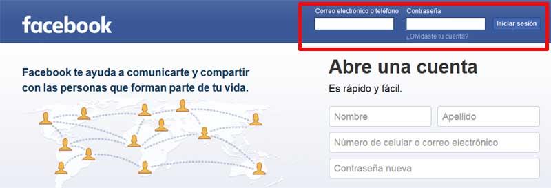 enter on Facebook