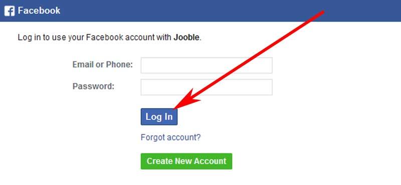 create a jooble account