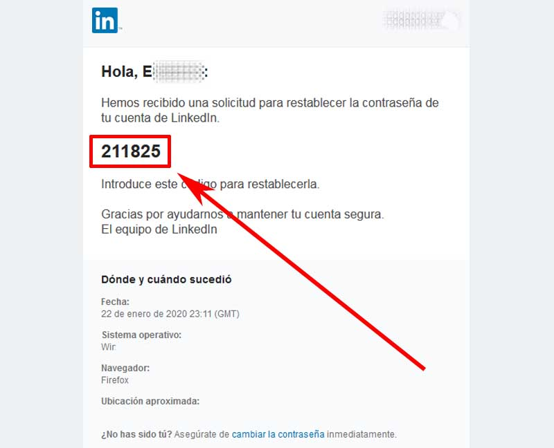 how to recover a linkedin account