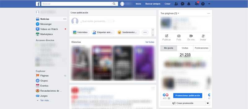 enter my facebook account