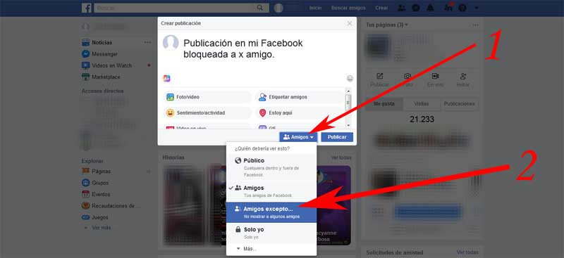 how to post on facebook without anyone seeing it