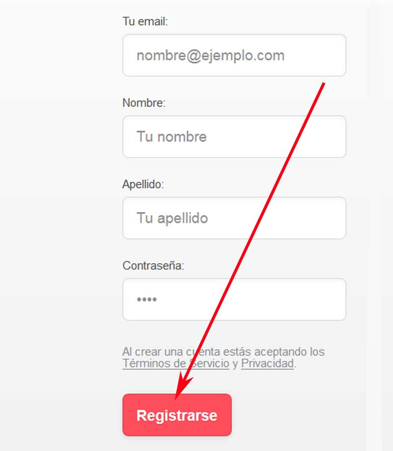 create a Cornershop account