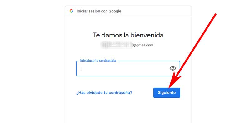 sign in to your Google account at Cornershop