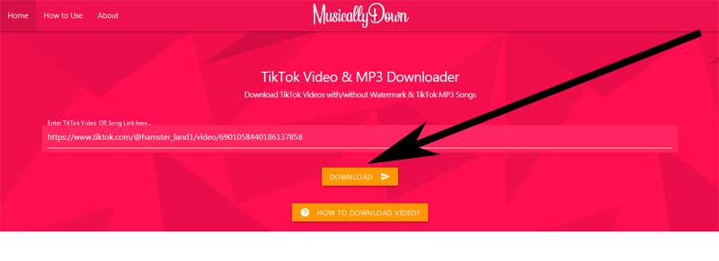 how to download audio from tiktok