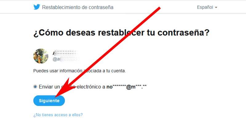 how to change my twitter account password