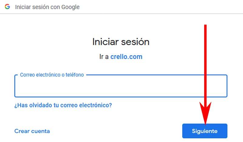enter Gmail to sign in crello