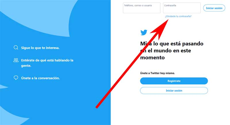 recover your Twitter account