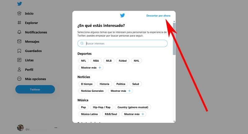 register on twitter
