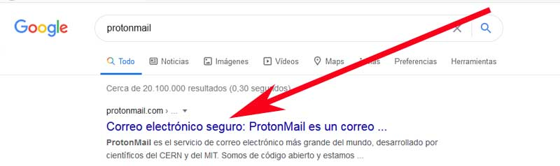 access protonmail